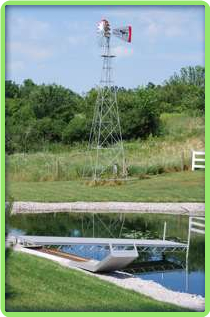 Pond Aeration Windmill